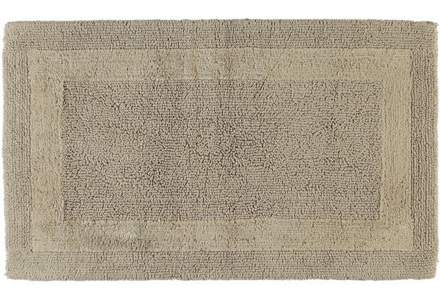 cawö Wende-Badteppich sand 60 cm x 100 cm