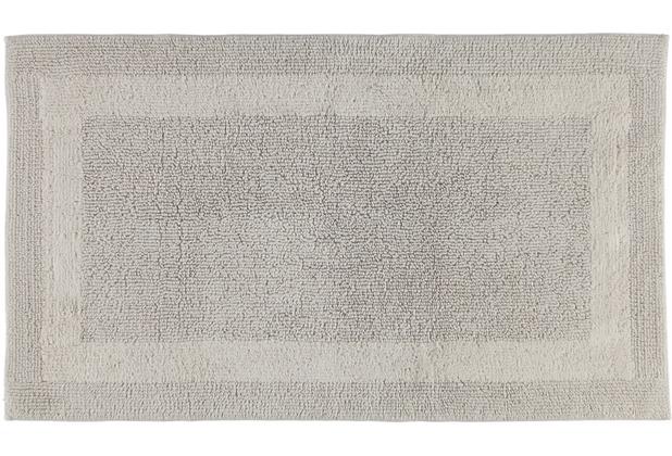 cawö Wende-Badteppich travertin 60 x 100 cm