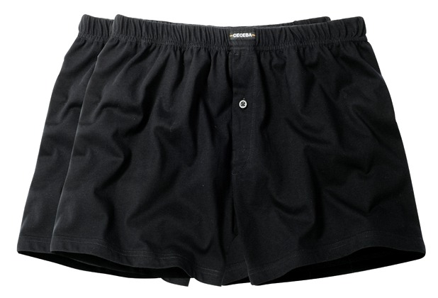 Ceceba Shorts 2er Pack black Übergröße 10
