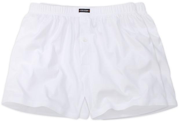 Ceceba Shorts 2er Pack weiss Übergröße 10