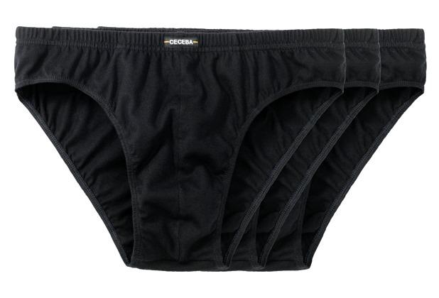 Ceceba Sport-Slip 3er Pack black Übergröße 10