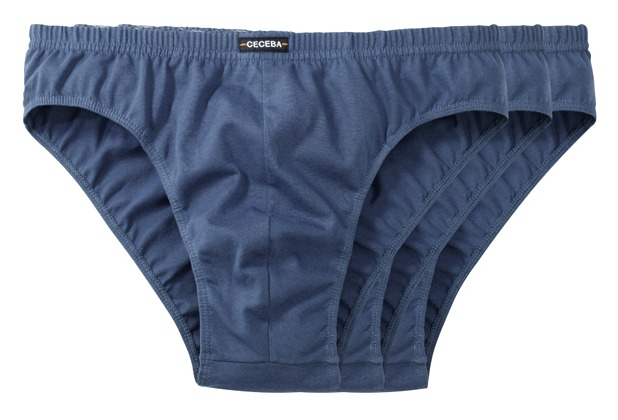 Ceceba Sport-Slip 3er Pack midnight-blue Übergröße 10