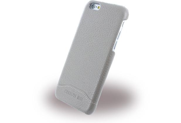 Cerruti 1881 Signature Trim - Leder Hardcase für Apple iPhone 6/6s - Beige
