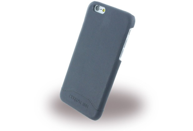 Cerruti 1881 Smooth Split - Kunstleder Hardcase für Apple iPhone 6/6s - Navy