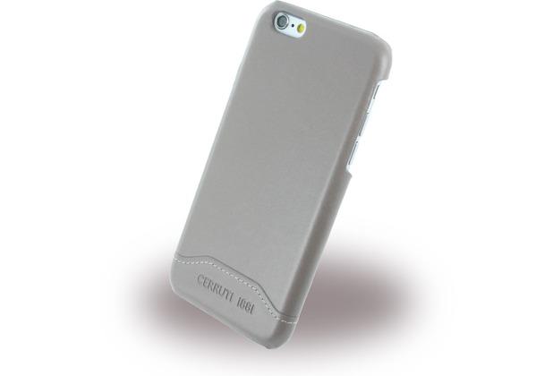 Cerruti 1881 Smooth Split - Kunstleder Hardcase für Apple iPhone 6/6s - Taupe