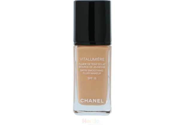 Chanel Vitalumiere Satin Smoothing Fluid SPF15 #40 Beige 30 ml