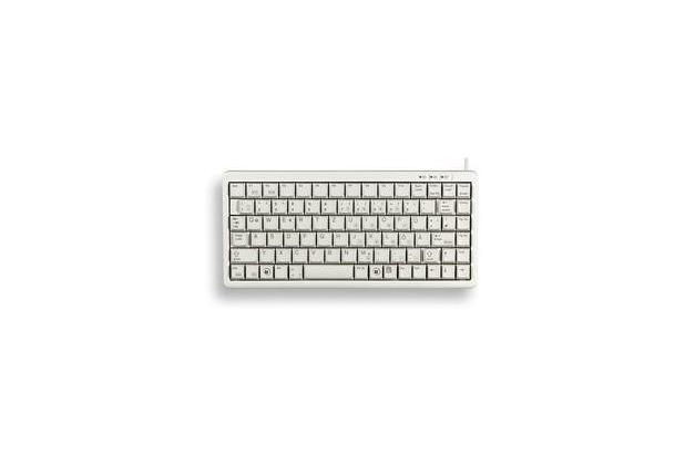 Cherry Compact Keyboard G84-4100 Ger, hellgrau