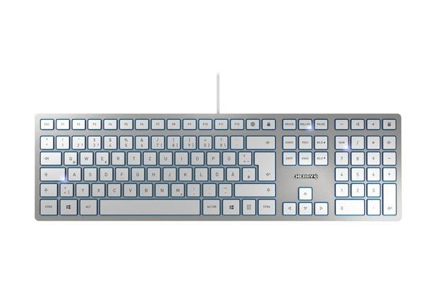 Cherry Tastatur KC 6000 (JK-1600DE-1) silber