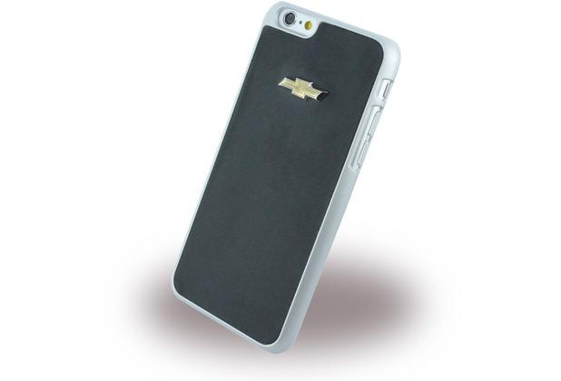 chevrolet Emblem Mirror Effect, Leder Hard Cover für Apple iPhone 6 Plus/6s Plus, schwarz