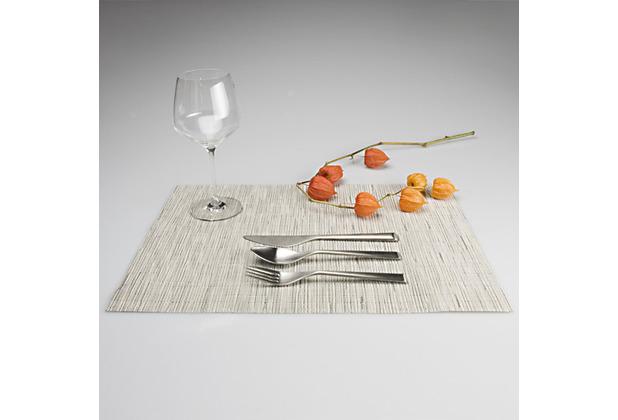chilewich Tischset BAMBOO chalk - 2er Set