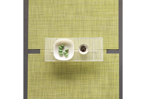 chilewich Tischset MINI BASKETWEAVE lemon - 2er Set