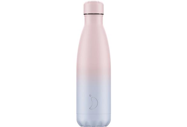 Chillys Isolierflasche Gradient Blush Blue/Pink 500ml