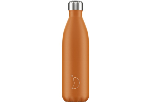 Chillys Isolierflasche Burnt Orange 750ml