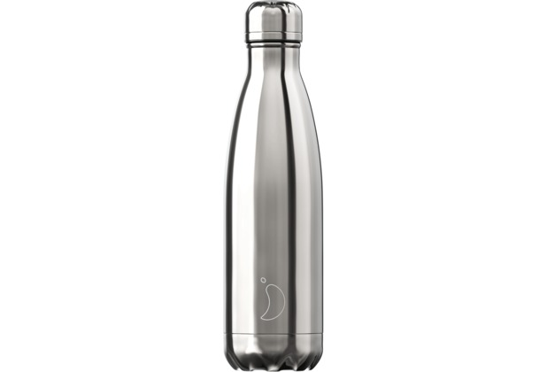 Chillys Isolierflasche Chrome Silver 500ml