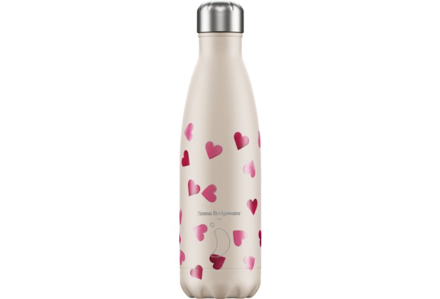 Chillys Isolierflasche Emma Bridgewater Pink Hearts Herzen 500ml