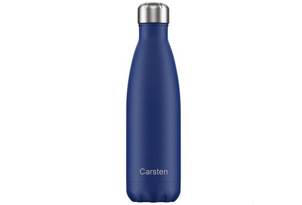 Chillys Isolierflasche MIT GRAVUR (z.B. Namen) Matte Blue blau 500ml