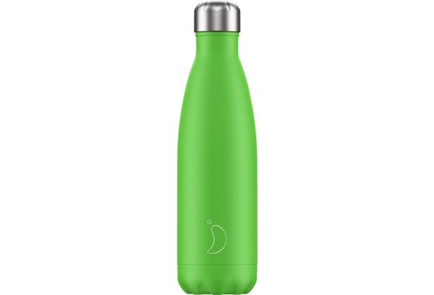 Chillys Isolierflasche Neon Green grün 500ml