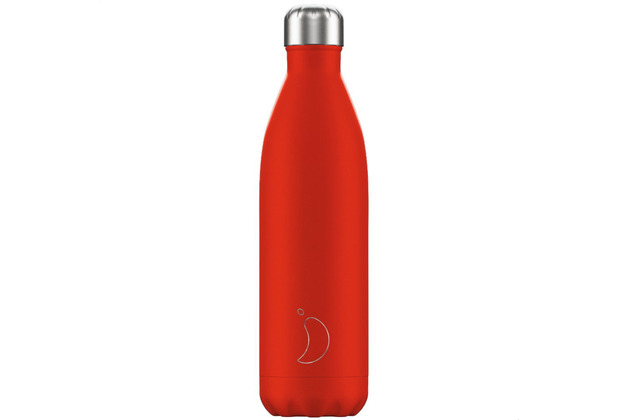 Chillys Isolierflasche Neon Red rot 750ml