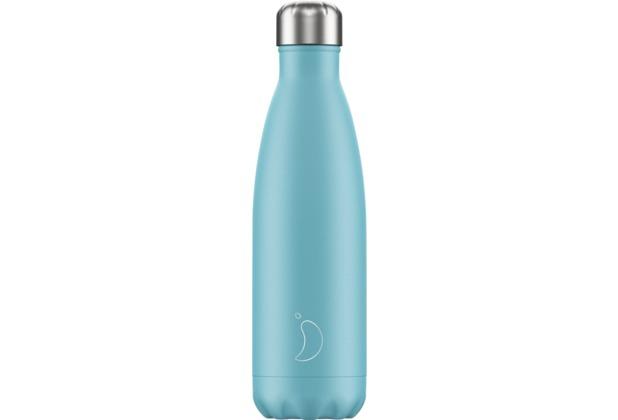 Chillys Isolierflasche Pastel Blue blau 500ml