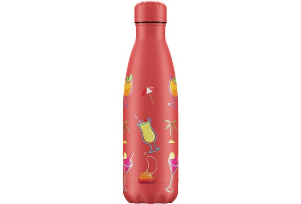 Chillys Isolierflasche Pool Party Sundown Cocktail 500ml