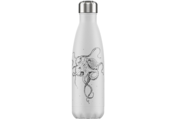 Chillys Isolierflasche Sea Life Octopus Krake 500ml
