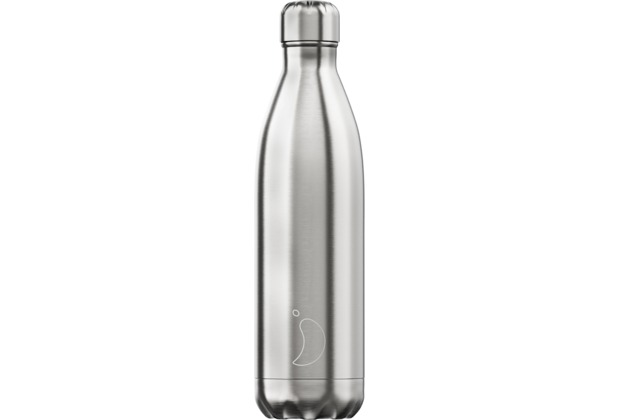 Chillys Isolierflasche Stainless Steel Silver Edelstahl 750ml