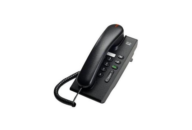 Cisco Unified IP Phone 6901 Slimline - VoIP-Telefon - SCCP - Anthrazit