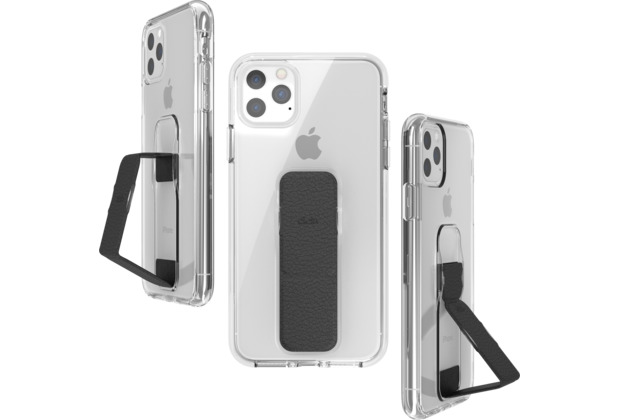 CLCKR Clear Gripcase FOUNDATION for iPhone 11 Pro Max clear/black