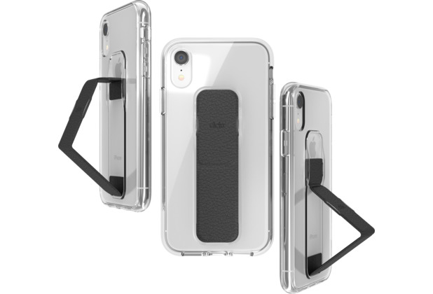 CLCKR Gripcase FOUNDATION for iPhone XR clear/black
