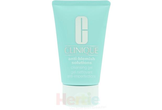 Clinique Anti-Blemish Solutions Cleansing Gel All Skin Types 125 ml, Reinigungsgel für alle Hauttypen