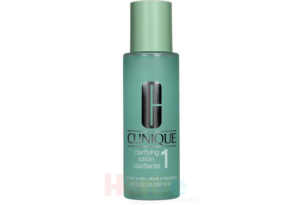 Clinique Clarifying Lotion 1 Very Dry To Dry 200 ml