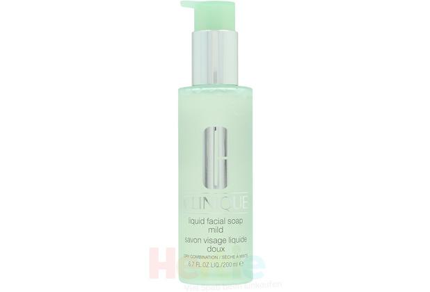 Clinique Liquid Facial Soap Mild Dry Combination 200 ml