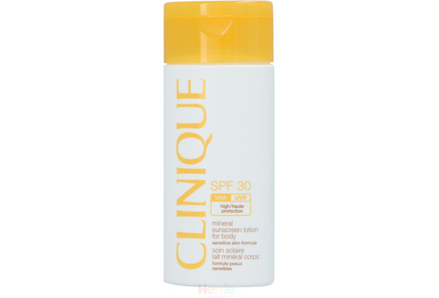 Clinique Mineral Sunscreen Lotion For Body SPF30 High Protection - Sensitive Skin, Sonnenschutzlotion 125 ml