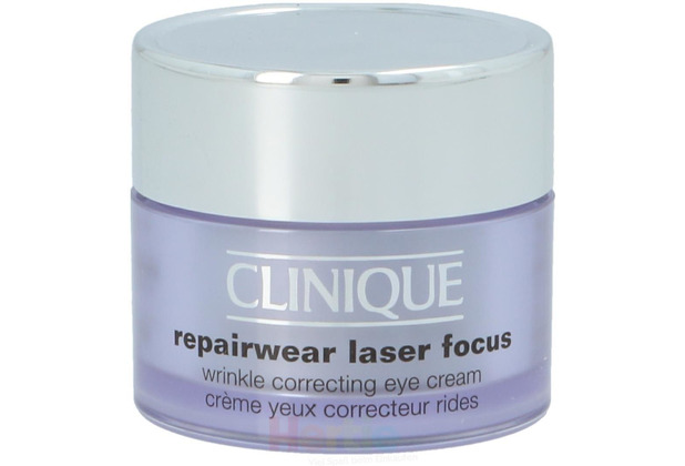 Clinique Repairwear Laser Focus Eye Cream All Skin Types - Wrinkle Correcting 15 ml