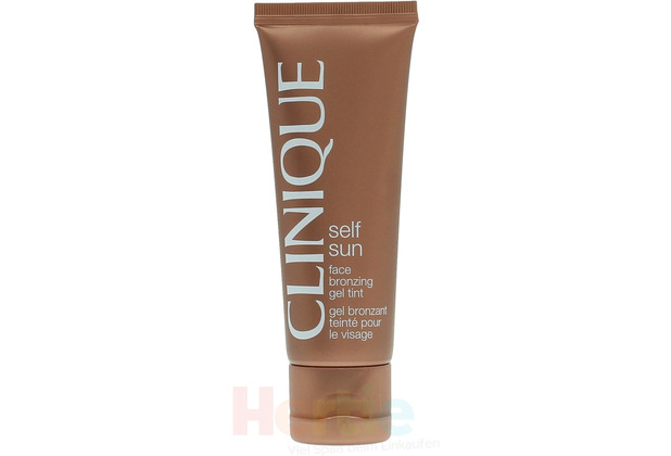 Clinique Self Sun Face Bronzing Gel Tint Oil-Free, ölfreies Selbstbräunungsgel für die Haut 50 ml