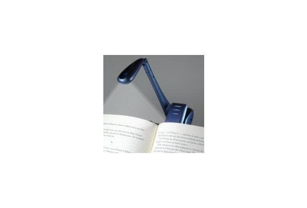 Clip-On Booklight - Blau - Leselampe