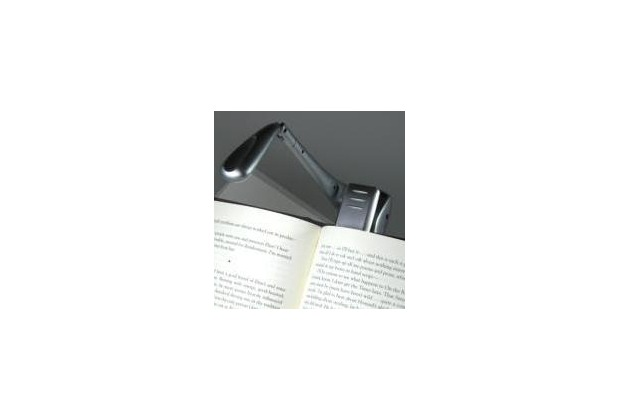 Clip-On Booklight - Silber - Leselampe