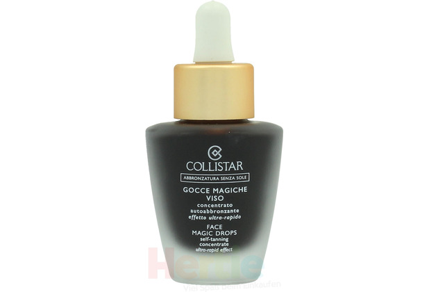Collistar Face Magic Drops Self-Tanning Concentrat Ultra-Rapid Effect 30 ml