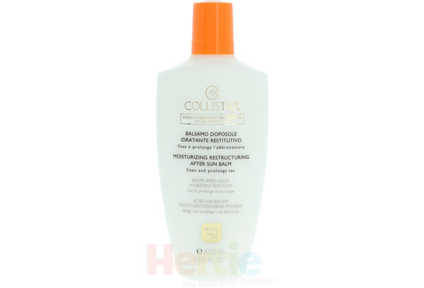 Collistar Moistur. Restructuring After Sun Balm 400 ml