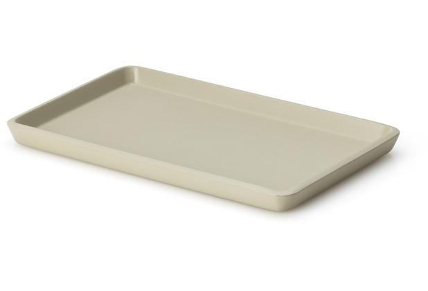 Continenta Tablett, Lack, kiesel 22 x 13,5 x 1,2 cm