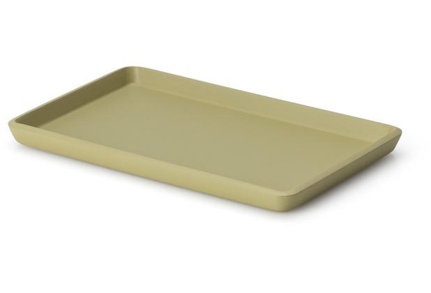 Continenta Tablett, Lack, schilf 22 x 13,5 x 1,2 cm