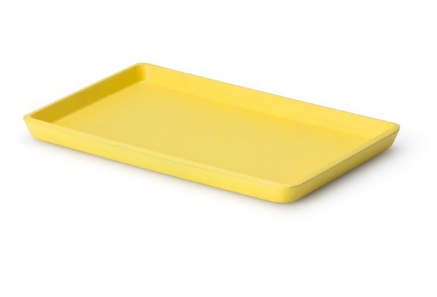 Continenta Tablett, Lack, zitrone 22 x 13,5 x 1,2cm