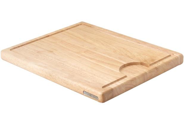 Continenta Tranchierbrett 37 x 29 x 2,7 cm, helles Holz