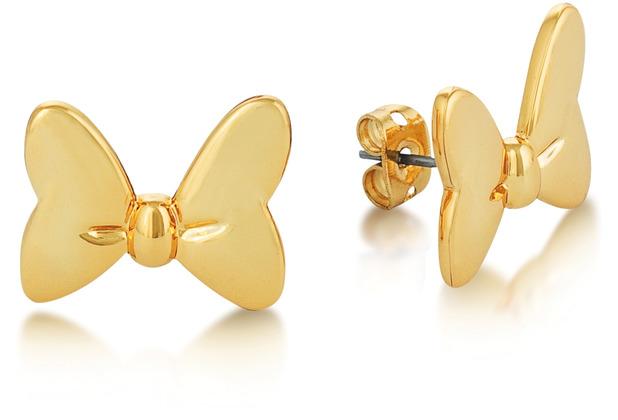 """Couture Kingdom Ohrstecker Disney \""""Minnie Maus\"""" - Schleife 1,0 x 1,0 cm"""