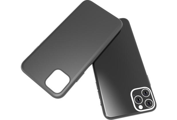 Cyoo Premium Liquid Silicon Hard Cover - iPhone 11 - Schwarz