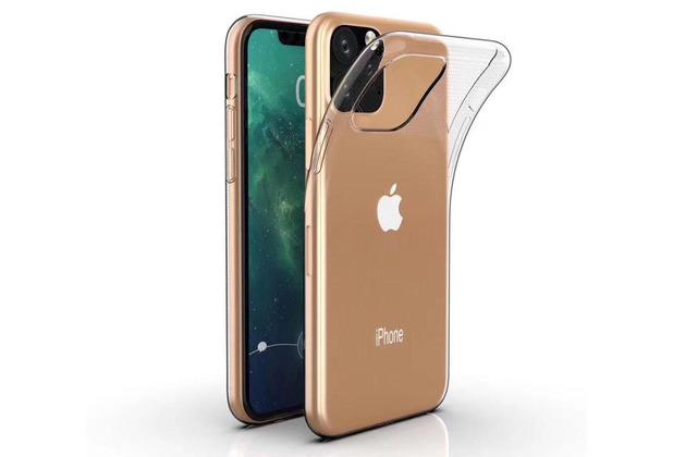 Cyoo Silikon Case für iPhone 11 Pro, Transparent