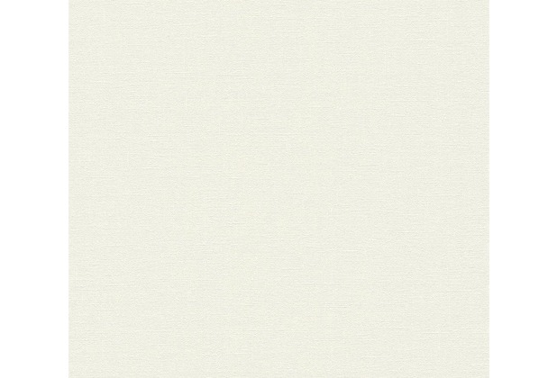 Daniel Hechter Vliestapete Tapete Unitapete creme grau weiß 10,05 m x 0,53 m