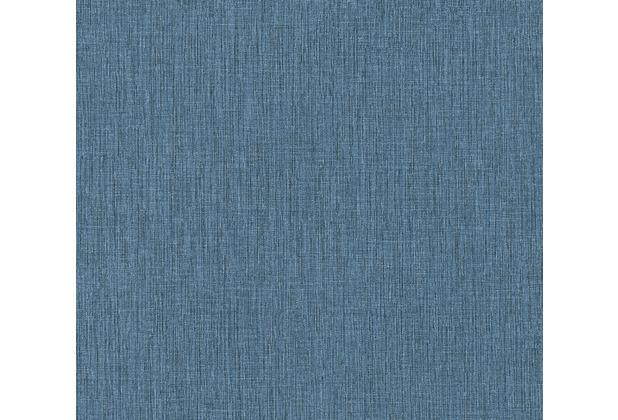 Daniel Hechter Vliestapete Unitapete blau 379521 10,05 m x 0,53 m
