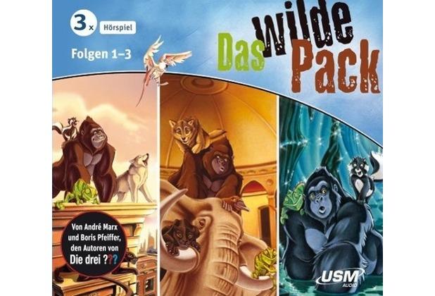 Das wilde Pack Hörbox Folgen 1-3 Hörbuch