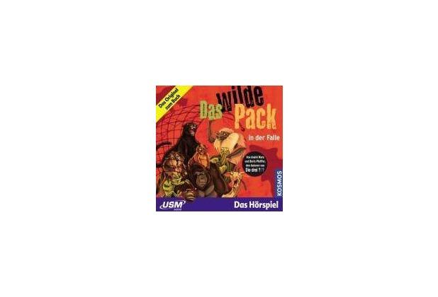 Das wilde Pack Folge 5: Das Wilde Pack in der Falle (Audio-CD) Hörspiel